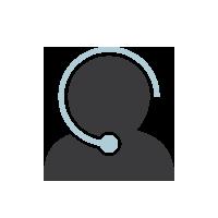 Support centre representitive icon