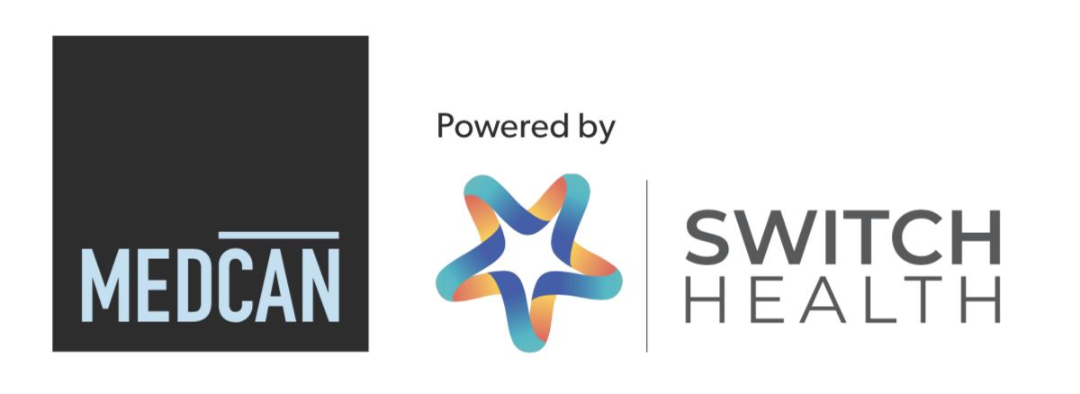 medcan switch health logos